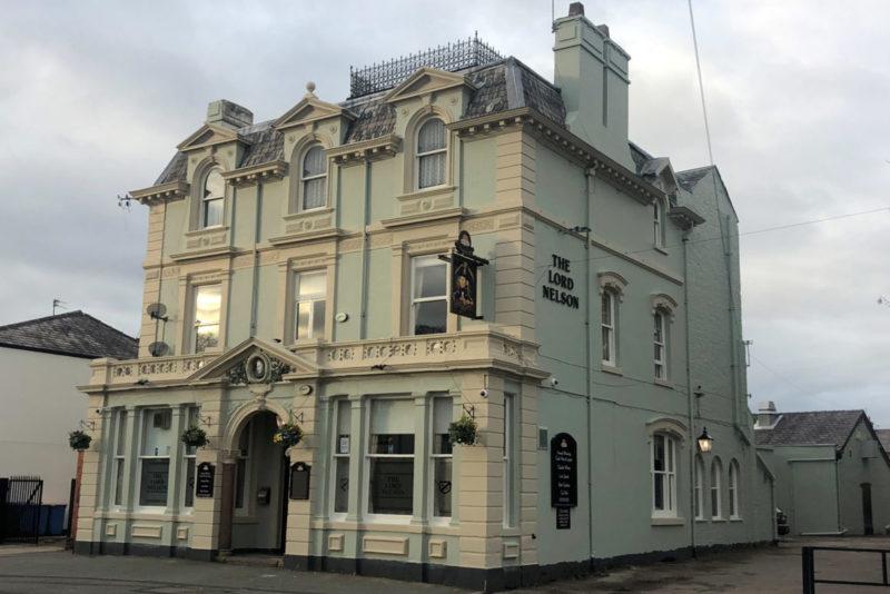 lord nelson pub in urmston