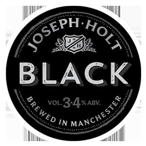 joseph holt black logo pump clip