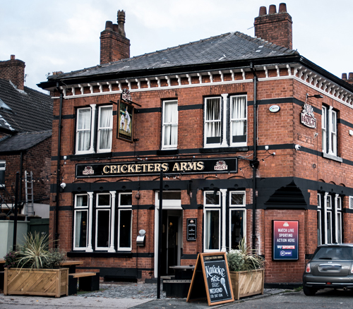 cricketers arms pub swinton