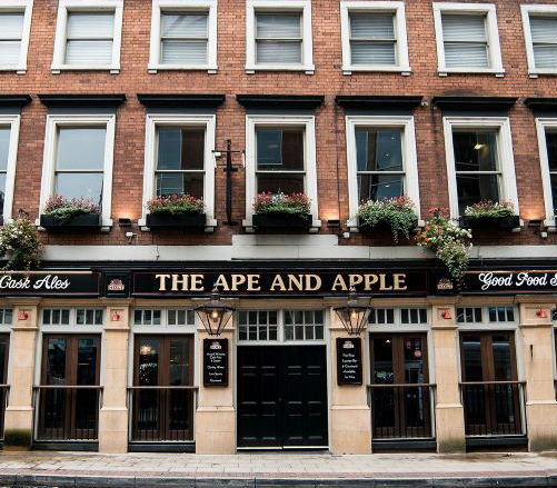ape and apple manchester pub