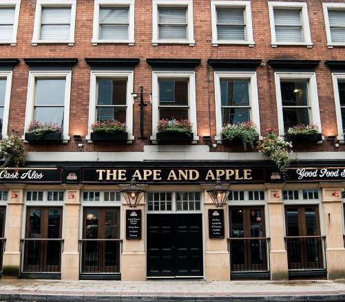 ape and apple manchester pub