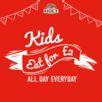 kids eat for £2 all day