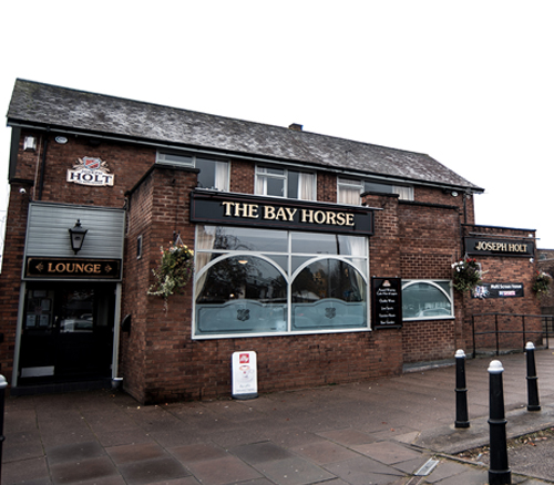 Bay horse pub outside
