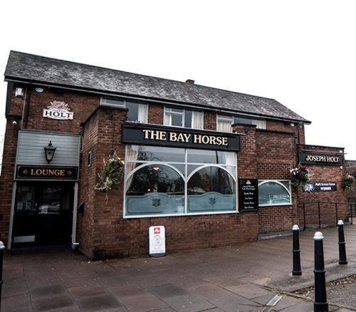 Bay horse pub outside