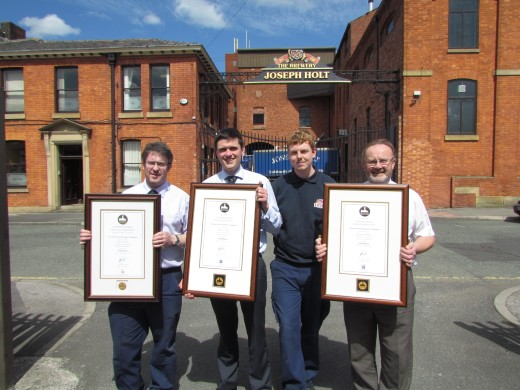 Black Wins Gold at International Brewing Awards
