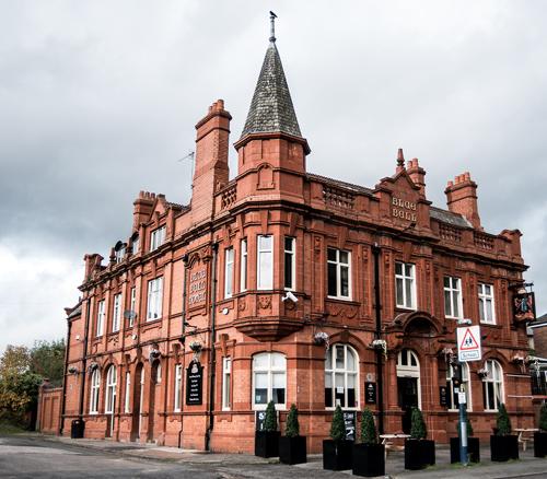 blue bell moston pub