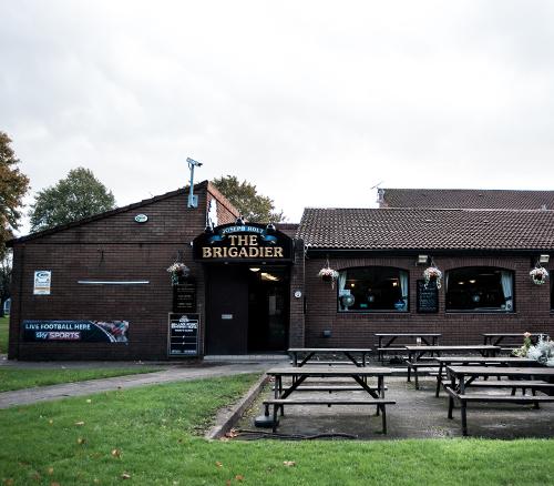 brigadier pub outside