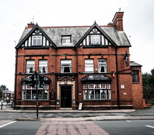 chapel house pub outside