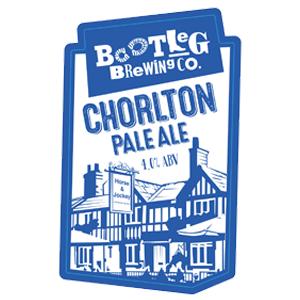 chorlton pale ale pump clip logo