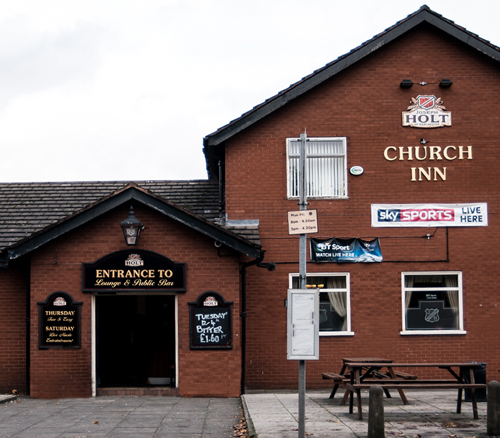 church inn pub newton heath