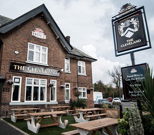 the cleveland pub crumpsall