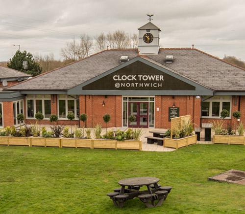 clock tower pub in northwich