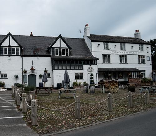 Cock O'Budworth pub outside