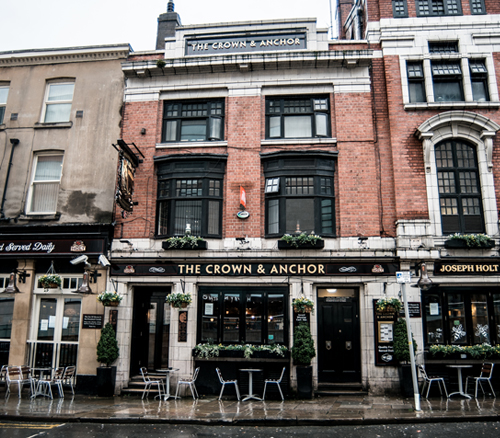crown and anchor manchester pub