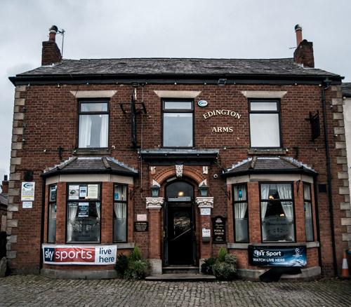 edington arms pub wigan