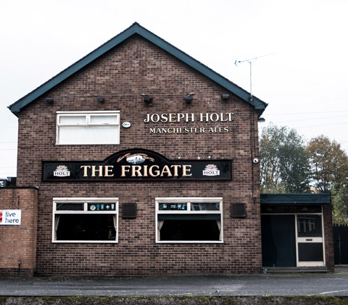 the frigate pub in whitefield