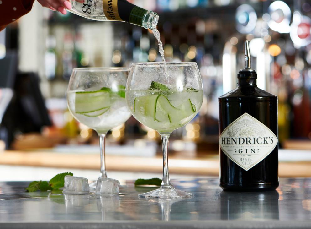 Gin and Rum Menu
