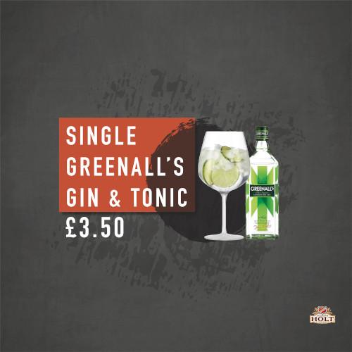 Greenalls Gin offer