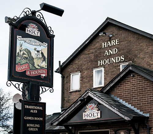 hare and hounds pub radcliffe