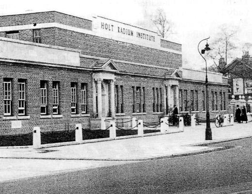 christie and holt radium institute