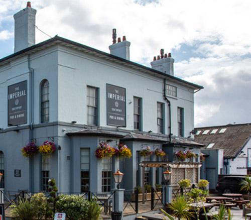 the imperial food pub in southport