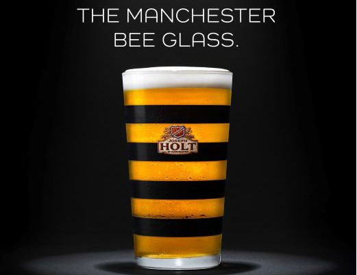 manchester bee glass