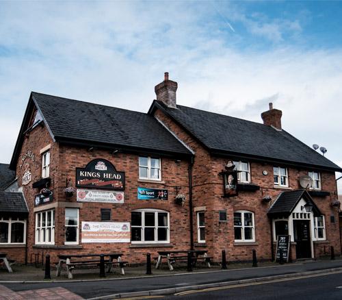 kings head pub in droylsden