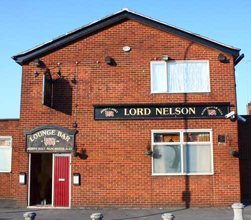 lord nelson pendlebury