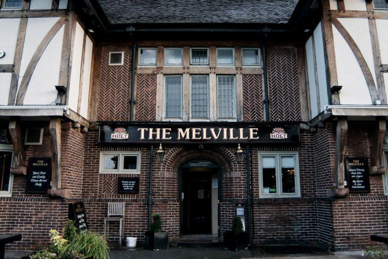 the melville food pub in stretford