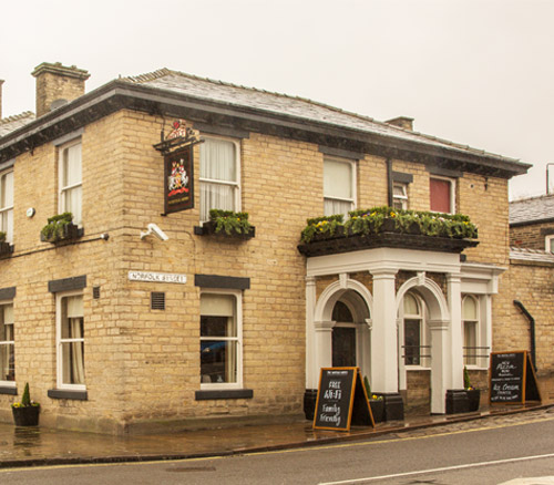 norfolk arms put exterior in glossop