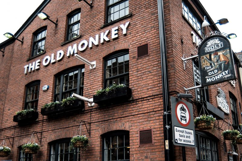 the old monkey pub in manchester