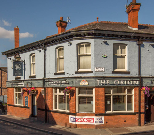 the orion pub in withington joseph holt