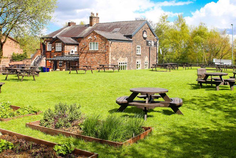 ostrich pub large beer garden prestwich manchester