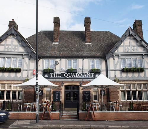 the quadrant pub stretford