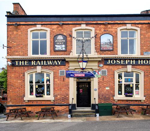 railway pub higher openshaw