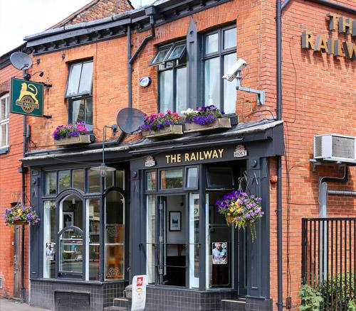the railway pub in didsbury