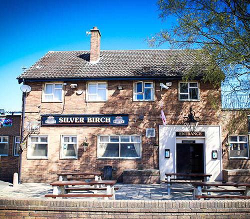 silver birch pub in wythenshawe