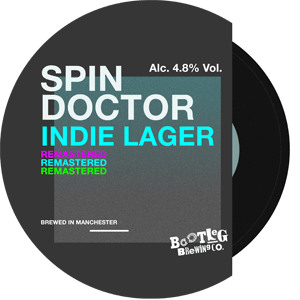 spin doctor indie lager pump clip