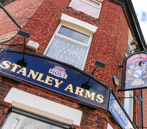 stanley arms eccles