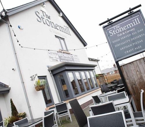 the stonemill pub in warrington