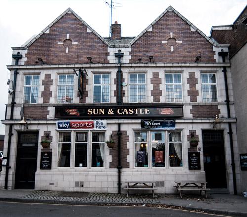 sun and castle pub in stockport hillgate