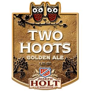 two hoots logo pump clip