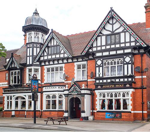 the volunteer pub in sale