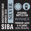 siba 2018 premier lager silver
