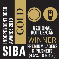 siba 2019 premium lager gold medal