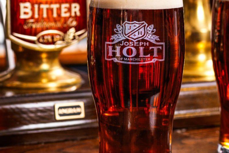Bitter cask ale