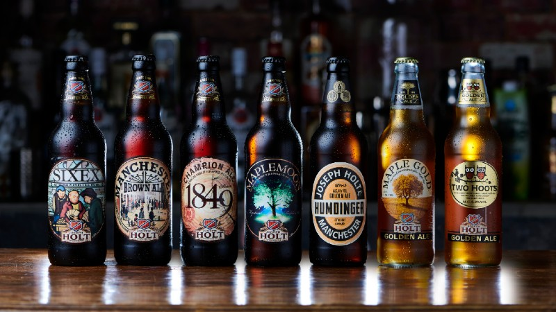 holt beer bottle range