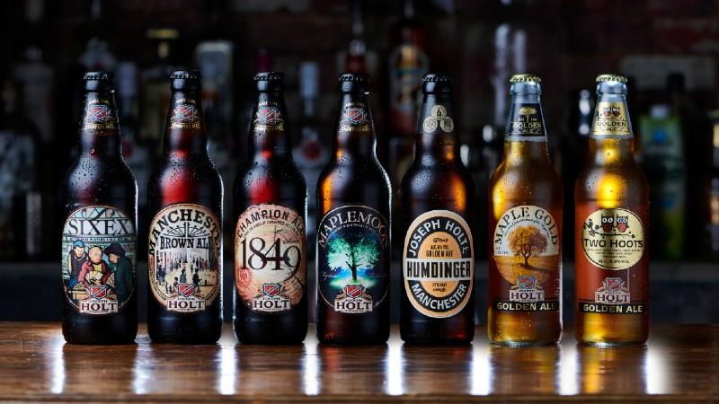 holt beer bottle range