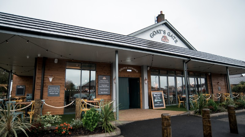 goat's gate food pub in whitefield