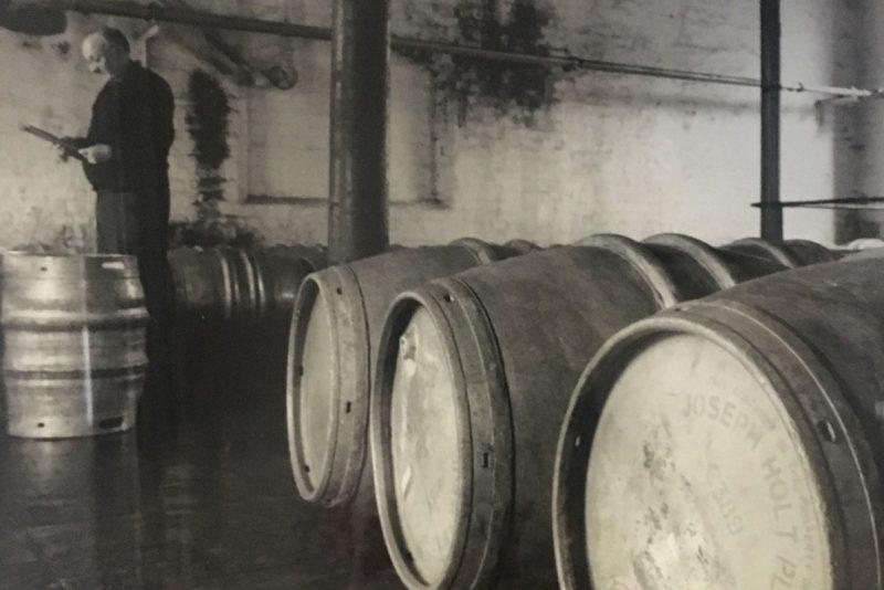 Hogshead Barrels in the Barrel Store